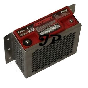 Pc680 Aluminum Battery Hold Down Vertical Or Horizontal Light Weight