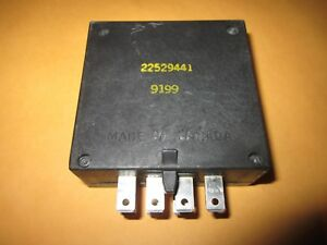 22529441 Gm Oem Anti Theft Alarm Control Module Unit