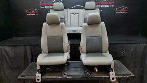 2005 Grand Cherokee Driver Lh Passenger Rh Front Rear Power Seats Set Wear