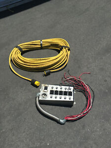 Gen tran Manual Transfer Switch Model 302110 With 150 Feet Of Cable Included