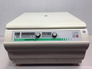 Sorvall Legend T Quikset Centrifuge 75004366 W Swinging Rotor