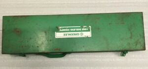 Greenlee 1989 Manual Dieless Hydraulic Crimper Compression Crimping Tool