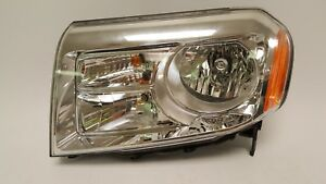 2012 2015 Honda Pilot Headlight Light Lamp Driver Halogen Halo 12 13 14 15 Oem
