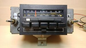 1984 Ford Truck Am fm Radio 80 86 E4af19a241 serviced Youtube Video