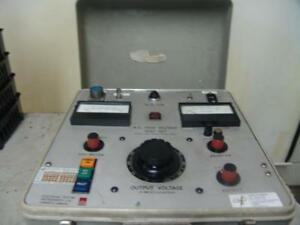 Eti Adwell Hva 100 10 Dielectric A c High Voltage Test Set Hipot