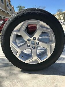 255 55 20 Good Year Set Of 4 Suv 4x4 Range Rover 2019 Take Off Wheels And Tir