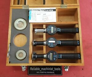 Mitutoyo Digital Borematic Inside Micrometer 1 0 To 2 0 Inch W 2 Rings