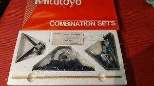 new Mexico Made Mitutoyo 12 Inch Combination Square Set machinist Welding 3