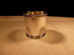 Tiffany Co Sterling Silver Small Small Mint Julep Sipping Shot Glass No Mono