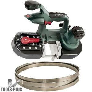Metabo Mbs18ltx25 Band Saw 5 2ah Battery Charger Ob