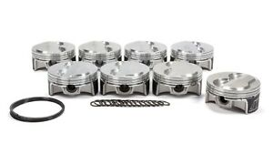Wiseco Sbc Domed Piston Set 4 155 Bore 3cc K0030b3