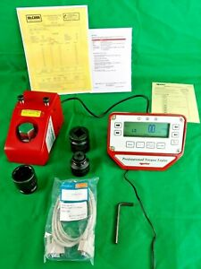 Norbar Pro test 1500 Torque Tester Calibration Series 2 System 43220