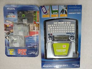 Brother P touch Pt 1880 sc Label Maker Nib And 3 Pack Tze Tape