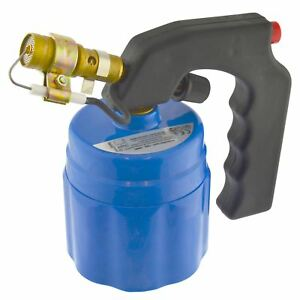 Butane Blow Torch Gas Plumbing 190g Flame Cylinder Bottles Piezo Ignition Sil32