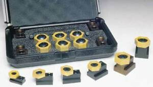 Mitee bite 9 16 X 3 8 16 Workholding T slot Clamping Kit holding Force 2000lbs