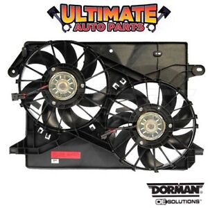 Radiator Cooling Fan Dual Fan 6 1l Or 6 4l For 09 14 Chrysler 300 Srt8