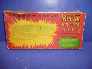 Nos Vintage Mopar 1949 52 Chrysler Dodge Inside Windshield Sunvisor Ct28
