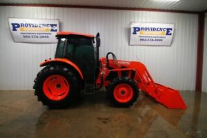 2016 Kubota M5 111 Tractor Loader Ultra Grand Cab Ii 100 Hp 12 Speed
