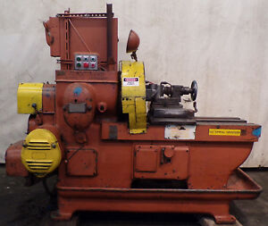 Sundstrand Automatic Lathe Model 12 10hp 22 Swing 24 Btn Centers Groover