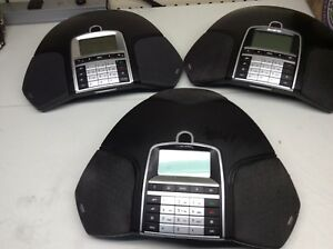 3 X Konftel 2x 300ip And Koftel1 X 300 Conference Phone No Power Adapter d