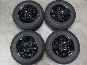2017 Chevy Z71 Factory 18 Wheels tires rims