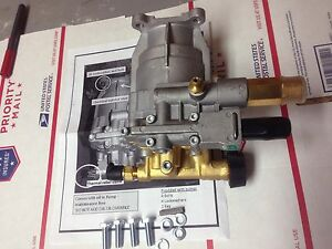 3100 Psi Power Pressure Washer Pump Brass Head Fits 3 4 Horizontal 020263 Brigg