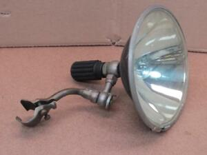 Antique Automobile Spotlight With Brass Mount Spot Light