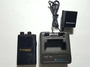 Motorola Minitor Ii Sv stored Voice Vhf 154 430mhz Fire Ems Pager W charger