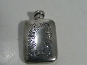 Thomae Co Sterling Silver Perfume Bottle