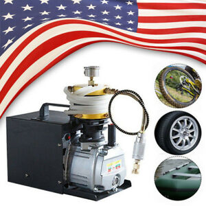 4500psi High Pressure Pump Pcp Air Compressor Rifle Oil water Separator Sale
