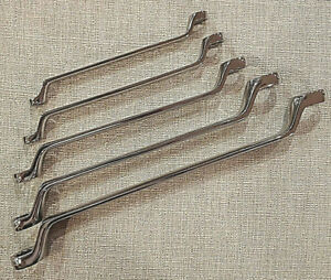 Craftsman 5 Pc Inch 12 Pt Deep Offset Box End Full Polish Sae Wrench Set 44349