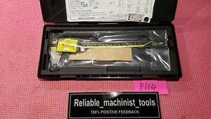 new Mitutoyo Japan Made 8 Inch Absolute Digital Caliper machinist Tool P114