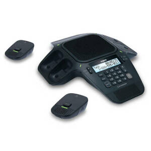 Vtech Vcs704 Erisstation Conference Phone With Four Wireless Mics Mpn Vcs704