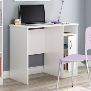 South Shore Axess Collection 35w In Small Desk Pure Pure White