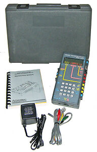 mint ameritec Am 48 Personal Transmission Test Set charger case calibrated 19