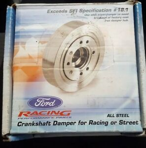 New Ford Racing 302 351w Performance Crankshaft Damper With Spacer Mustang Gt 93