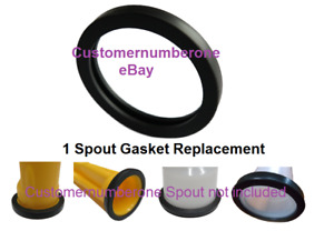 Gas Spout Gasket Replacement Wedco Scepter Gott Rubbermaid spouts Not Included
