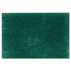 Scotch Brite Professional Commercial Heavy Duty Scouring Pad 86 6 X 9 Green