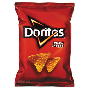 Doritos Nacho Cheese Tortilla Chips 1 75 Oz Bag 64 carton