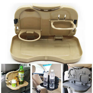 Organizer Rack Drink Food Cup Tray Car Drink Holder Auto Car Back Seat Table New
