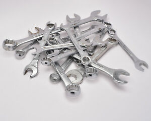 Misc Brand India Qty 15 Sae Metric Wrench Lot T926