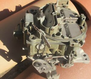 67 Camaro Chevelle Impala Nova 7037202 Quadrajet Carburetor Ca Air 350 327 Dated