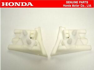 Honda Genuine Civic Ef9 Sir Front Bumper Fender Slide Bracket Set Oem Jdm