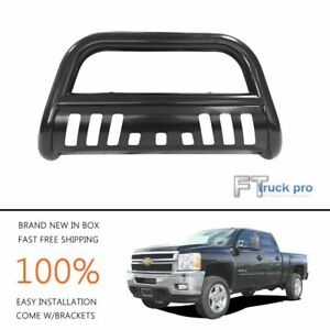 3 Bull Bar Guard For 1994 2001 Dodge Ram 1500 Tubular Black Powder Steel
