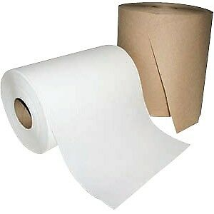 Windsoft Nonperforated Paper Towel Roll 8 X 800ft Brown 12 Rolls carton