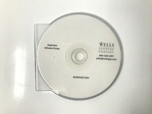 Wells Johnson Aspirator Infusion Pump In Service Guide Training Dvd Video Cd