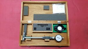 Mitutoyo Dial Bore Hole Inside W micrometer Head 511 332 Gage 2 4 To 4 In 0001