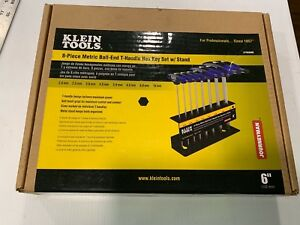New Klein Tools Jth68mb 6 Metric Ball End Journeyman T handle Set