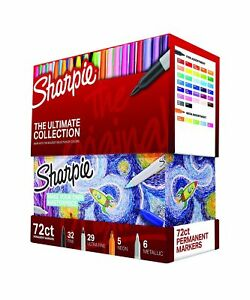Sharpie Permanent Markers Ultimate Collection Fine And Ultra Fine Points As