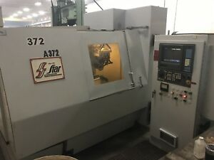 Star Atg 6ac 6 axis Cnc Tool Cutter Grinder 5300 Hours Ge fanuc 15m